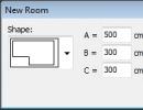 New Room Dialog