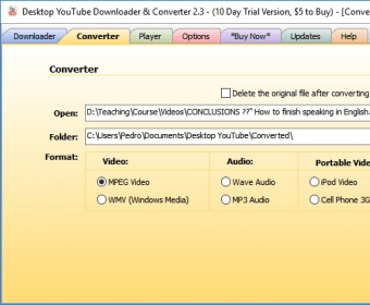 desktop youtube downloader