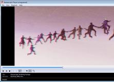 Playing a 3D WMV Video
