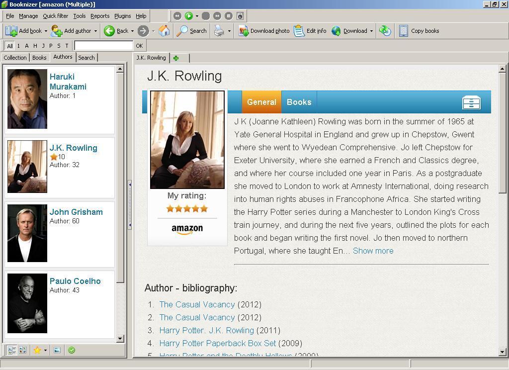 Author Data