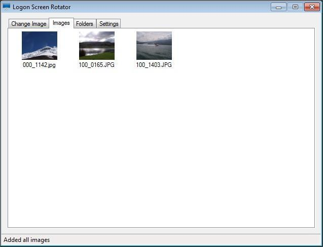 Images Tab