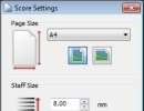 Score Settings Window