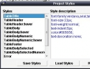 Project style editing