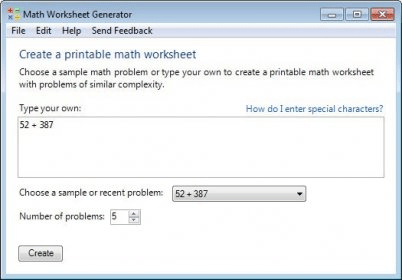 math worksheet : microsoft math worksheet generator  software informer microsoft  : Math Worksheet Generator Free