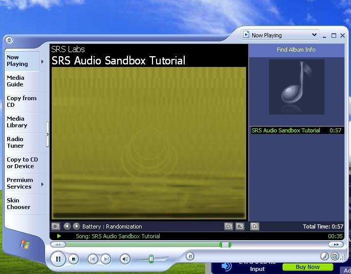 how to change audio in windows media player