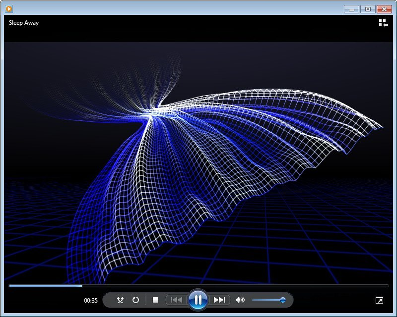 The Plugin in Windows Media Player