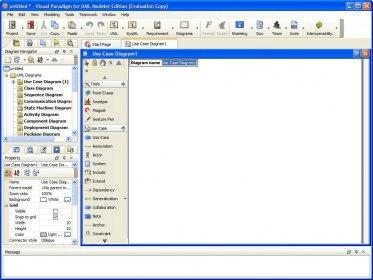 project window - Visual Paradigma
