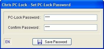 Password Lock Window