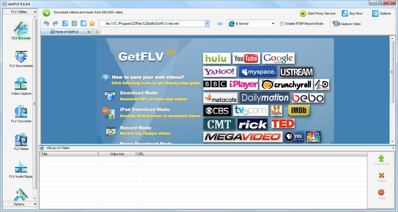 FLV Browser