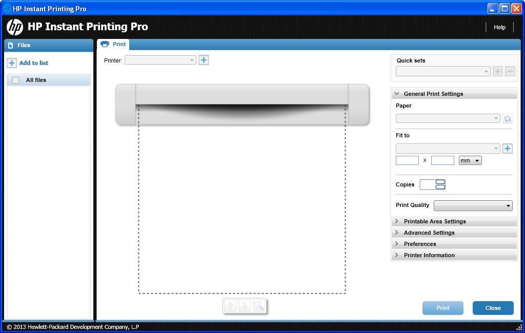 HP Designjet Instant Printing