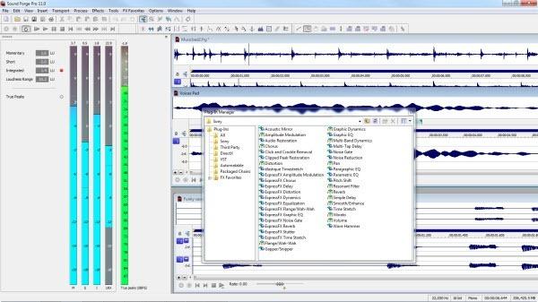 Wide range of editing options