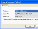 Tracking Protocol Window
