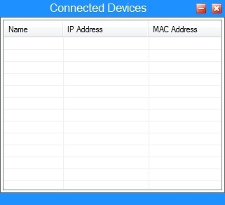 List of Connected Devices