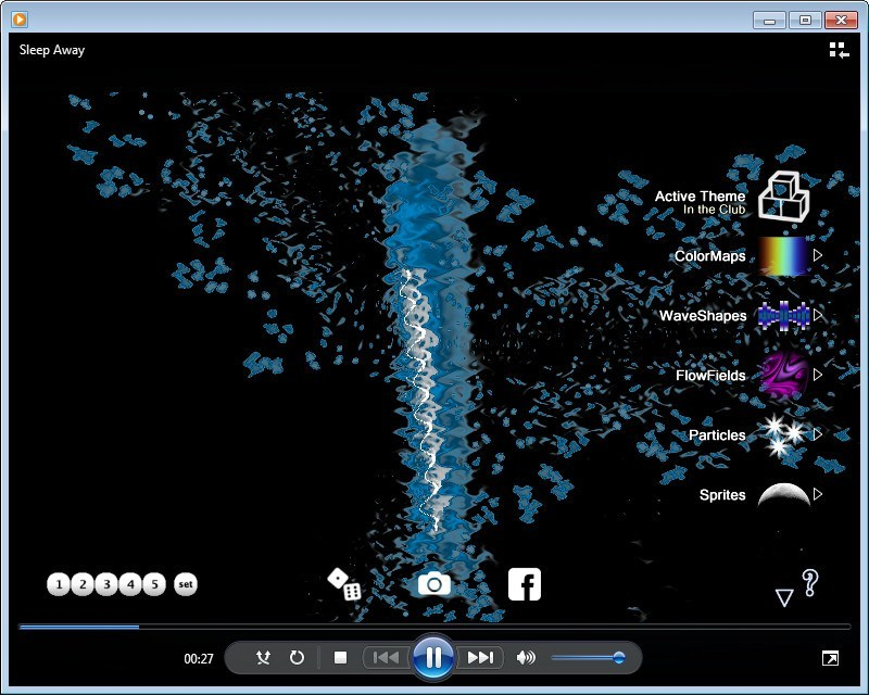 G-Force In Windows Media Player