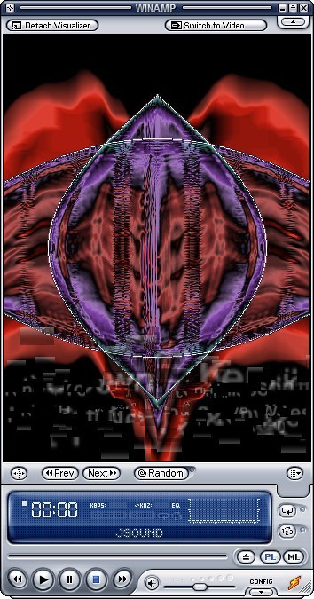G-Force in Winamp