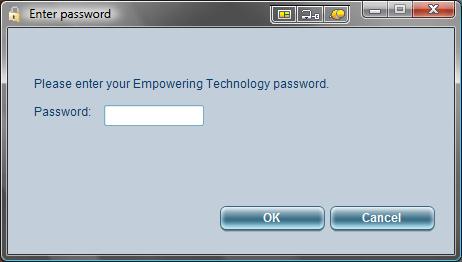 Acer eLock Management Create DeviceLock password