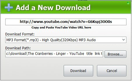 Adding a New Download