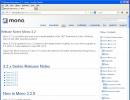 Version Info Window
