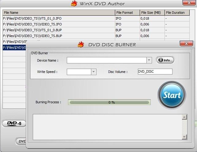 DVD Disc Burner
