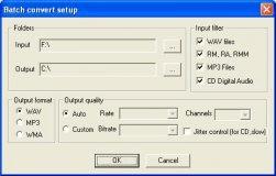 Batch conversion tool