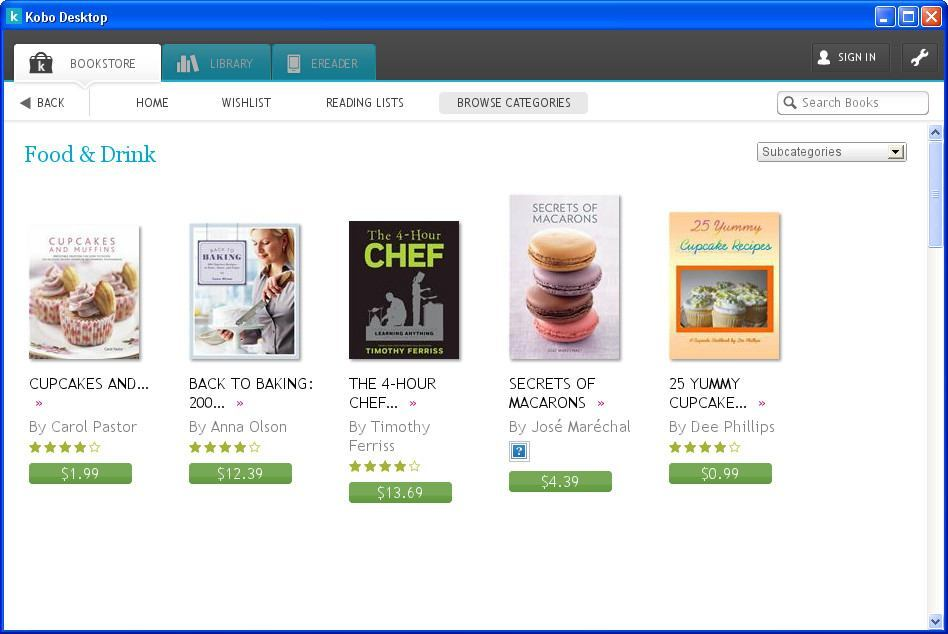 Ebook Searching Window