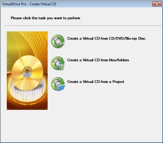 Creating a Virtual Drive