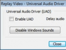 Audio Recording Options