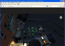 Browser gameplay Window