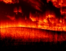 Burning Windows desktop