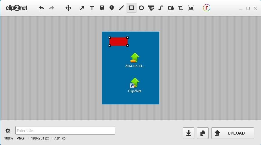 Editing Screenshots