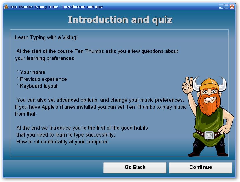 Beginning a new course