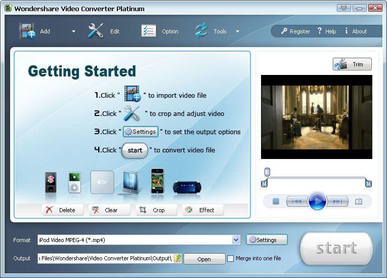 Wondershare video converter platinum 5 1 1 with serial : pricrectga