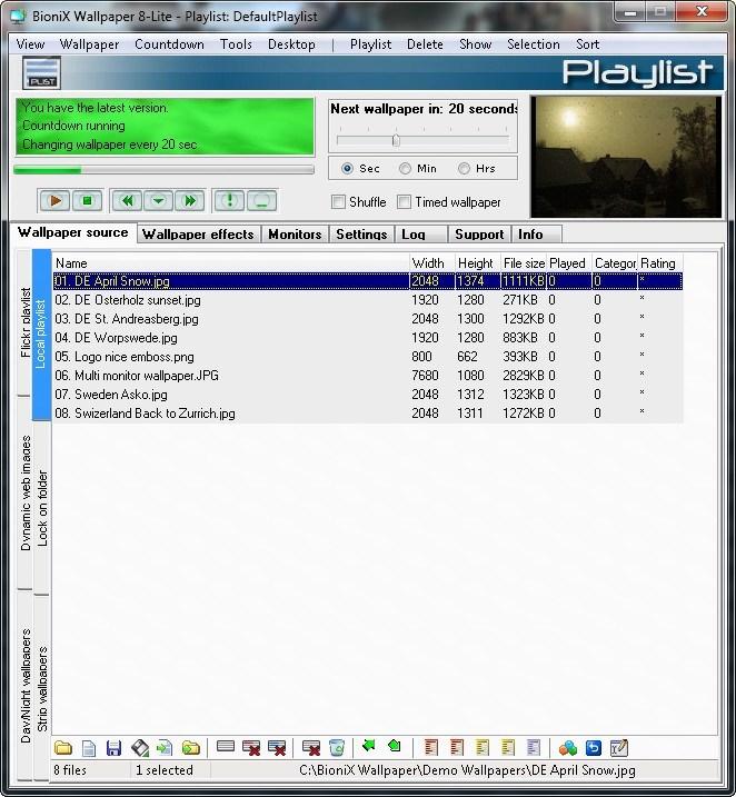 Bionix Desktop Wallpaper Changer: Torrent Bionix Desktop Wallpaper Changer Crack