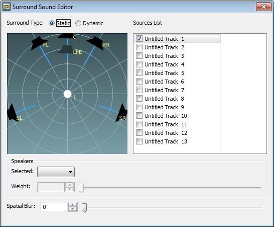 Surround Sound Editor