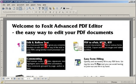 foxit pdf editor software free download
