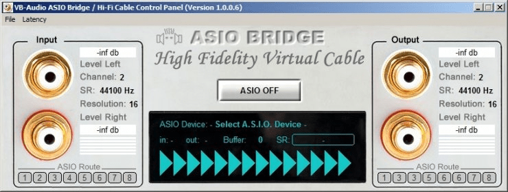 howto? use VB-audio asio bridge to route system sounds to asio4all