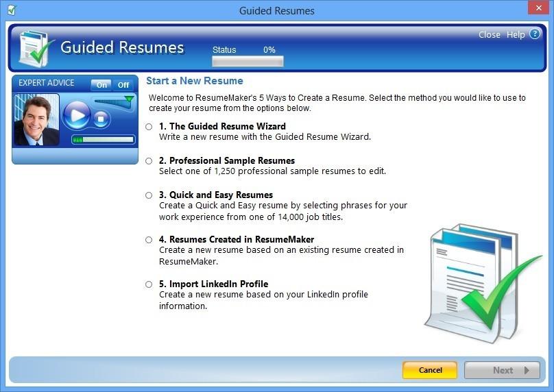 Resume Wizard