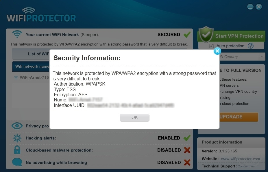 Security Information