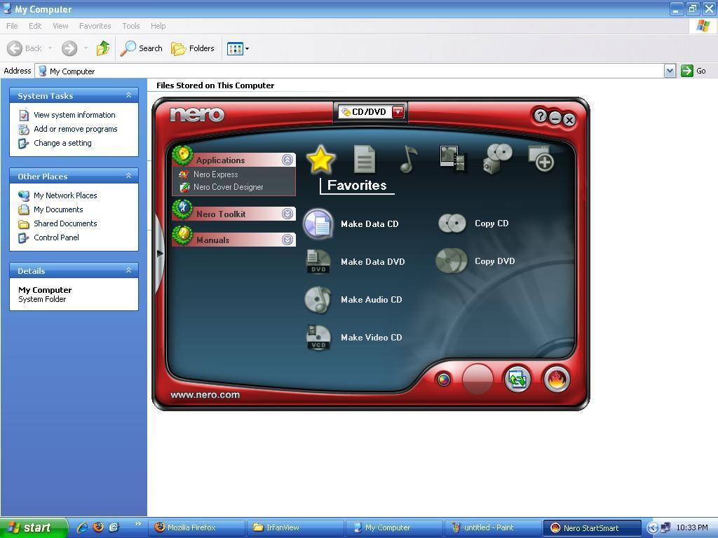 Nero 7 essentials update, Nero 7 Lite 7.11.10.0c, Nero 6.0, Nero 9 lite 9.4.13.2