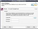 Step 1 : Choose a MDB (ms access) file