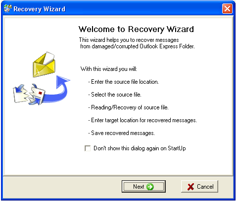 RECOVERY WIZARD