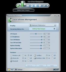 Acer ePower Management