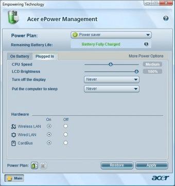 Epower Acer Скачать