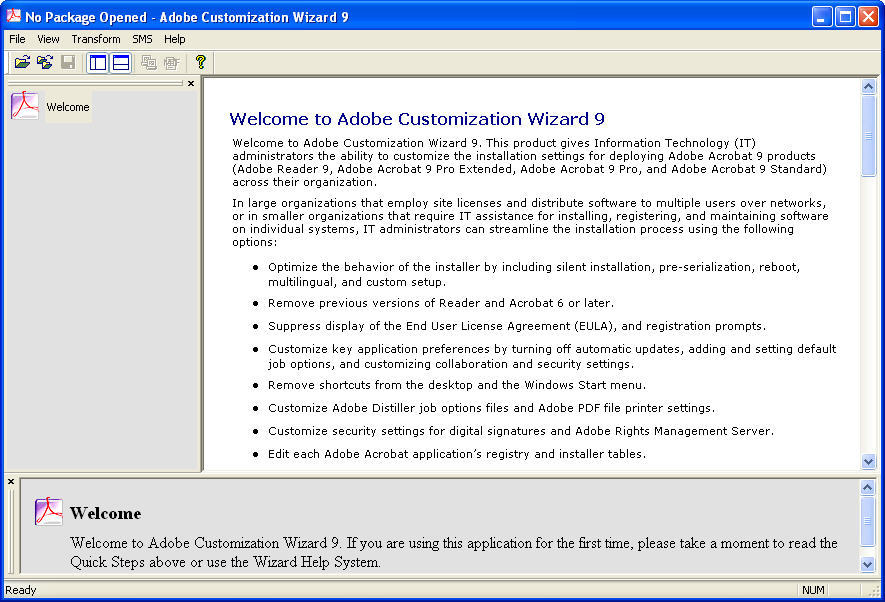 older versions of acrobat reader