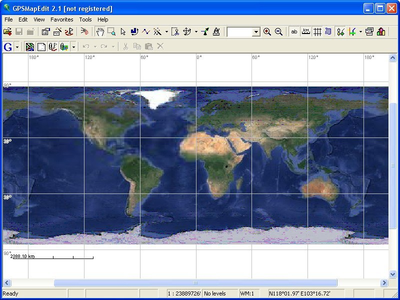 Map Creation Window