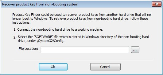 Advanced Product Key Recovery Tool