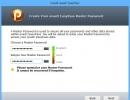 Create Master Password