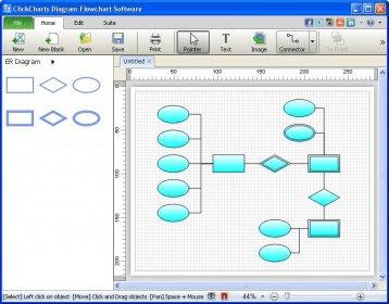 clickcharts diagram amp flowchart software 12 download