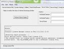 Server Status Window
