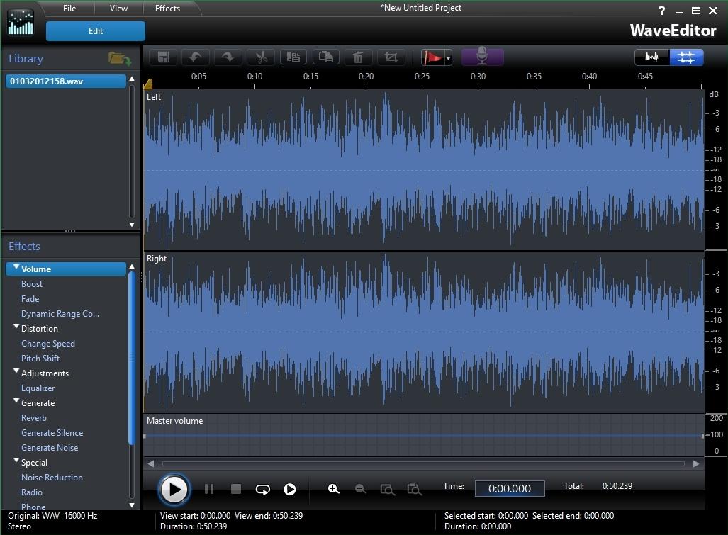 Audio Editor
